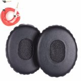 Promo Misodiko Replacement Earpads Foam Ear Pad Cushion Kit For On Ear Oe2 Oe2I Headphones With 3 5Mm Audio Cable 1 Pair Black Intl