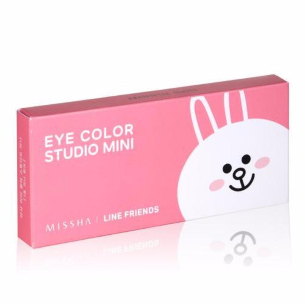 Kualitas Missha Eye Color Studio Mini Line Friends Cony Eye Shadow Missha