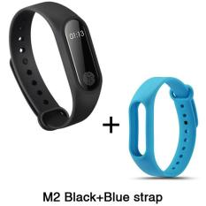 MITPS M2 Braclet With LED Display Touchpad Smart Heart Rate Monitor Fitness Tracker Pedometer Waterproof Wireless Bluetooth 4.0 Wristband - intl