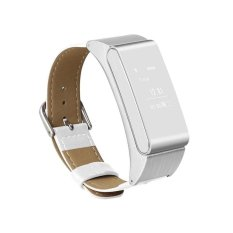 MITPS M8 Smart Gelang Berbicara Band Bluetooth Headset Mendukung Pedometer Gelang Pengawas Tidur untuk Android IOS Smart Watch (Silver) -Intl
