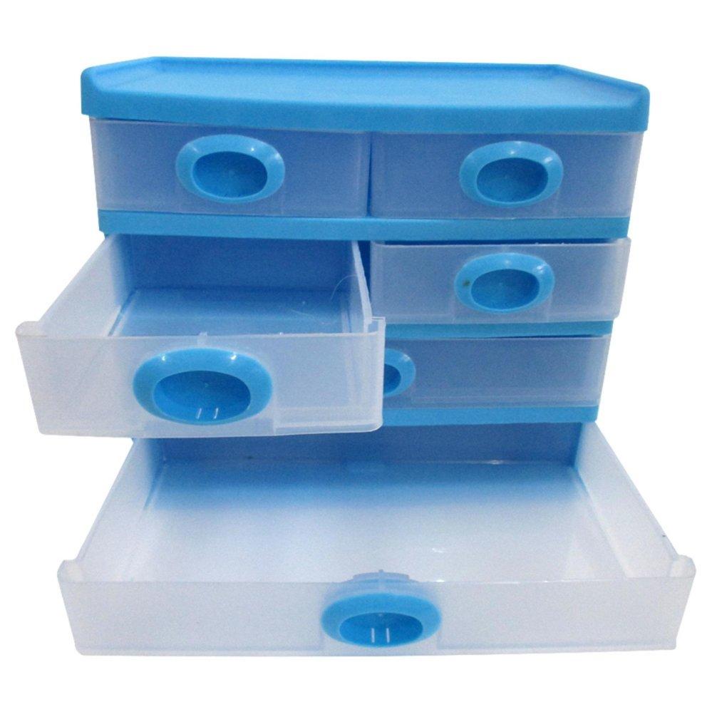 Promo Mitra Loka Beauty Box Penyimpanan Serbaguna 6 Laci Laci Dokumen Laci Kantor Laci Kaset Box Dvd Kotak Penyimpanan Kaset