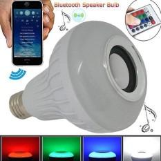 Harga Mitsuyama Bluetooth Speaker Bohlam Lampu Led 7W Musik Bermain Pencahayaan Menggunakan Remote Control Branded