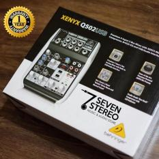 Jual Beli Mixer Behringer Xenyx Q502 Usb Q 502 Usb With Audio Interface Soundcard