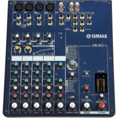 Mixer Yamaha MG 82 CX 8 Channel