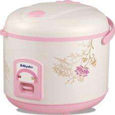 Miyako MCM-638 Magic Warmer Plus - Penanak Nasi - Putih-Pink