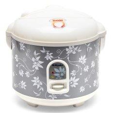 Miyako MCM528 Rice Cooker - Penanak Nasi - 1.8 L - Abu-abu (Random Motif)
