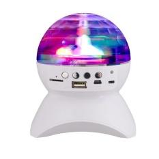 Harga Miyifushi Pesta Disco Dj Bluetooth Speaker Dengan Built In Light Show Stage Studio Efek Pencahayaan Rgb Berubah Warna Led Crystal Ball Auto Rotating Dengan Musik Player Untuk Tf Kartu Hitam Intl Termurah