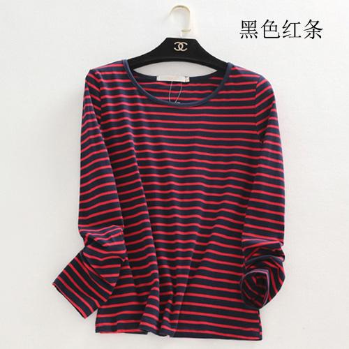 Harga Mm Hitam Dan Putih Untuk Meningkatkan Ukuran Besar Longgar T Shirt Hitam Garis Merah Oem Online