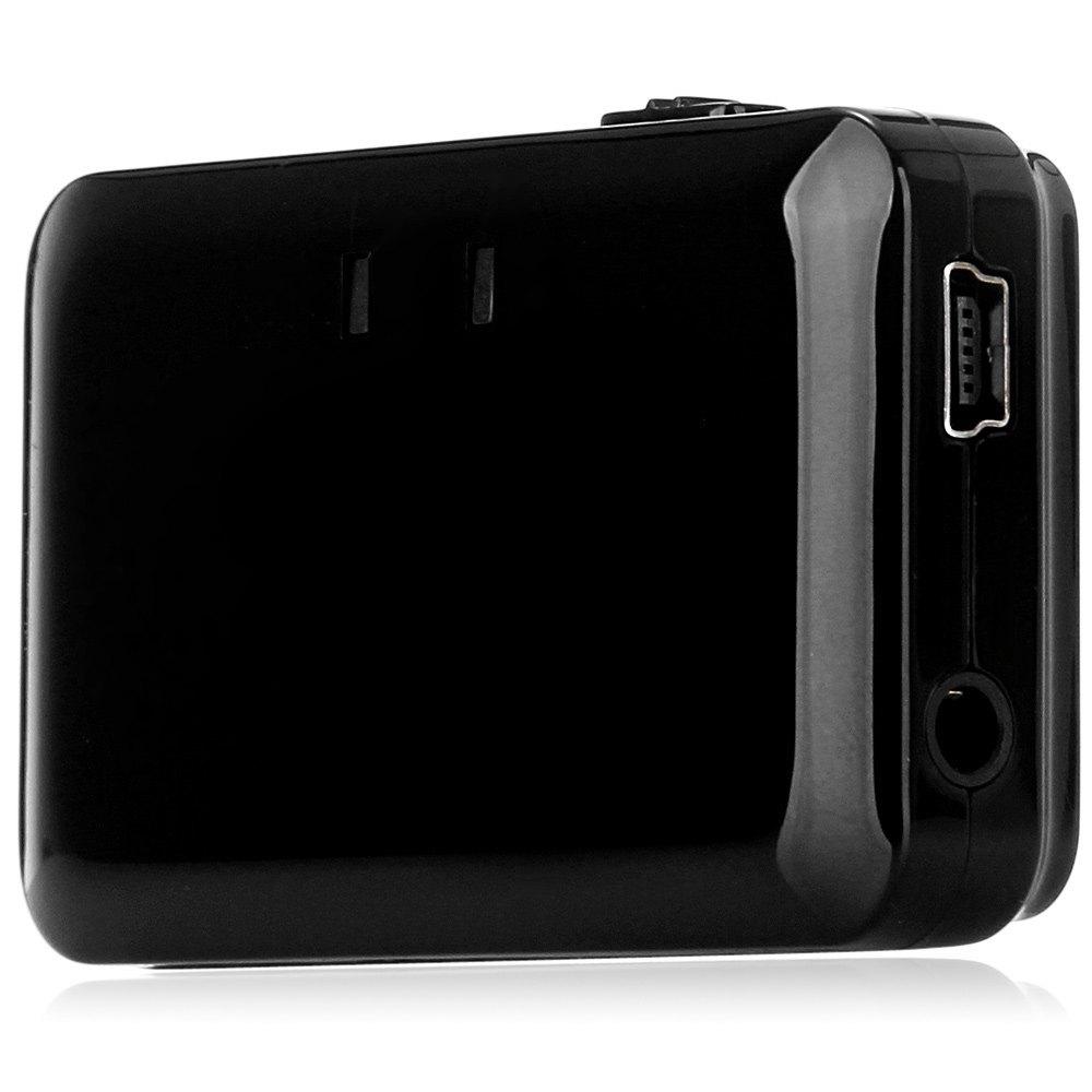 Mobil kecil TX-001 Bluetooth 2.1 A2DP Musik Transmitter dengan LED Indikator untuk TV DVD MP3 Hitam (Warna: Hitam)-Intl