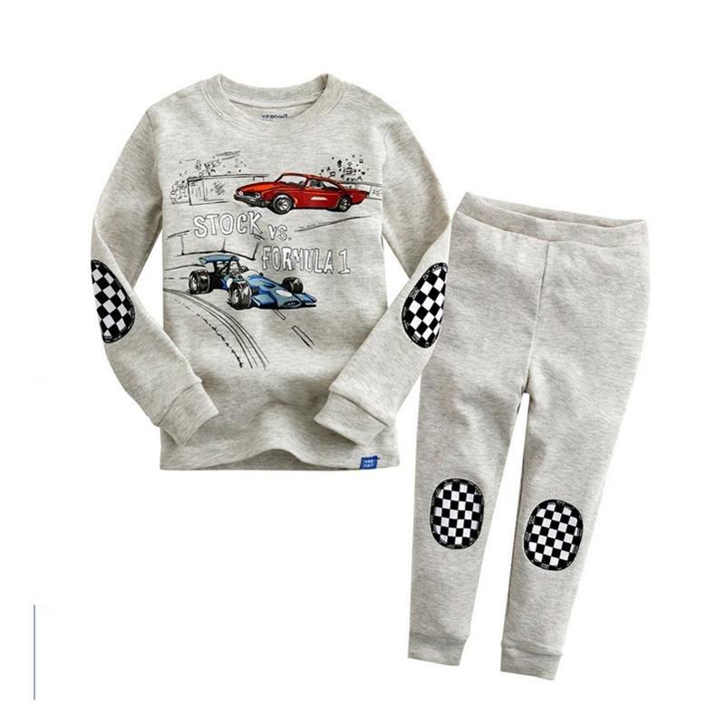Harga Mobil Letter Cool Boys Pajama Set Abu Abu Intl Terbaru