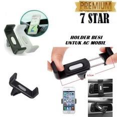 Mobile Holder Besi GPS Pada AC Mobil