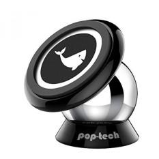 Mobile Phone Car Mount, Pop-tech Universal Magnetic Cell Phone Dashboard Car Mount Holder untuk Apple IPhone IPod Samsung Galaxy LG HTC Nokia MOTO, Android Smartphone, GPS, Tongkat Pada Setiap Permukaan Datar-Internasional