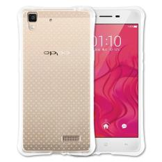 Mobile Pelindung handphone Kasus Telepon Shockproof Cover Clear Phonecase Anti Jatuh Phonecase untuk OPPO A35-Intl