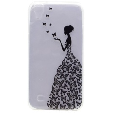 Ponsel Kasus untuk LG X Power K210 K450 K220 K220DS K220Y K220 LS755 US610 F750K XPOWER Back Cover Butterfly Wadah Bunga-Intl