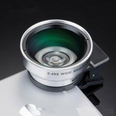 Beli Ponsel Lensa Profesional Profesional 45X Ultra Wide Angle Makro Dua In One Lensa Efek 45X Lebar Angle Lens Intl Murah Tiongkok
