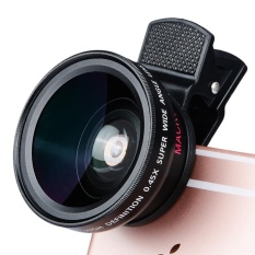 Ponsel Lensa Profesional Profesional 0.45 X Lensa Efek Ultra Wide Angle Makro Two-in-one 0.45 X Lebar -angle Lens