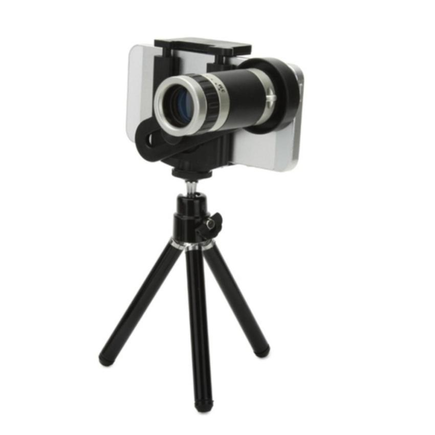 Tips Beli Mobile Phone Telescope Zoom Lensa 8X Universal With Tripod