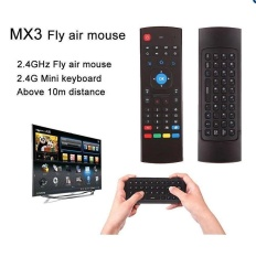 Mobiles Tablet Keyboard S Terlaris Fly mouse Udara 2.4G Mini PC Wireless QWERTY Keyboard 4 In 1 Multifungsi Inframerah Remote Learning Control untuk Android Smart TV Box G Box IPTV HTPC Windows IOS Mac Linux PS3 Xbox-Intl