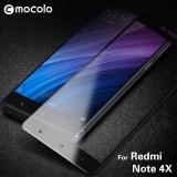 Model Mocolo Sutra Cetak Arc Edge Lengkap Cakupan Pelindung Layar Anti Gores Untuk Xiaomi Redmi Catatan 4X Hitam Intl Terbaru