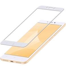 Toko Jual Mocolo Sutra Cetak Arc Edge Cakupan Penuh Film Pelindung Anti Gores Untuk Xiaomi Redmi 4X Putih Intl