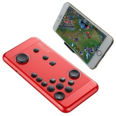 MOCUTE-055 Portable Bluetooth Wireless Game Controller with Phone Clip, for Android / iOS Devices / PC(Red) - intl