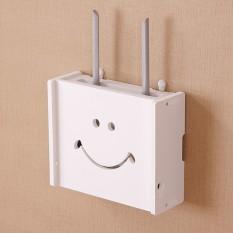 Model Gantung Kulit Kerang Tanpa Kabel Router Kucing Kotak Hub Kotak Penyimpanan