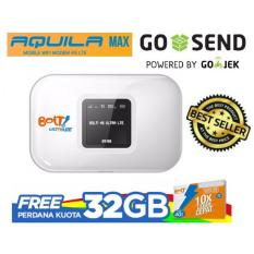 Modem Bolt Wifi 4G LTE Aquila Max - Putih + Bonus Kuota 32GB