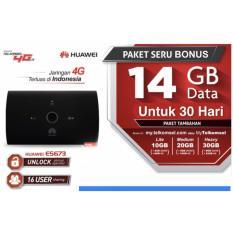 Diskon Modem Huawei Mifi 4G Lte Huawei E5673 Bundling Telkomsel Free 14Gb 1Bulan Huawei Dki Jakarta