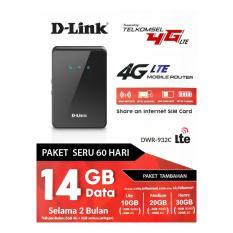MODEM MIFI DLINK DWR-923C FREE TELKOMSEL 14GB 4G LTE