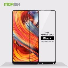 Mofi Cover Hampir Penuh Film Pelindung Anti Gores untuk Xiaomi Mi Mix 2/Mi Mix Evo-Intl