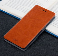 Pusat Jual Beli Mofi Flip Leather Wallet Case Cover For Xiaomi Redmi 4A Brown Intl Tiongkok