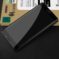 Mofi Xiaomi Mi Note 2 0.3 Mm 9 H Kekerasan Permukaan 3D Melengkung Edge Anti Gores HD Penuh Cakupan Kaca Antigores Pelindung Layar (Hitam) -Intl