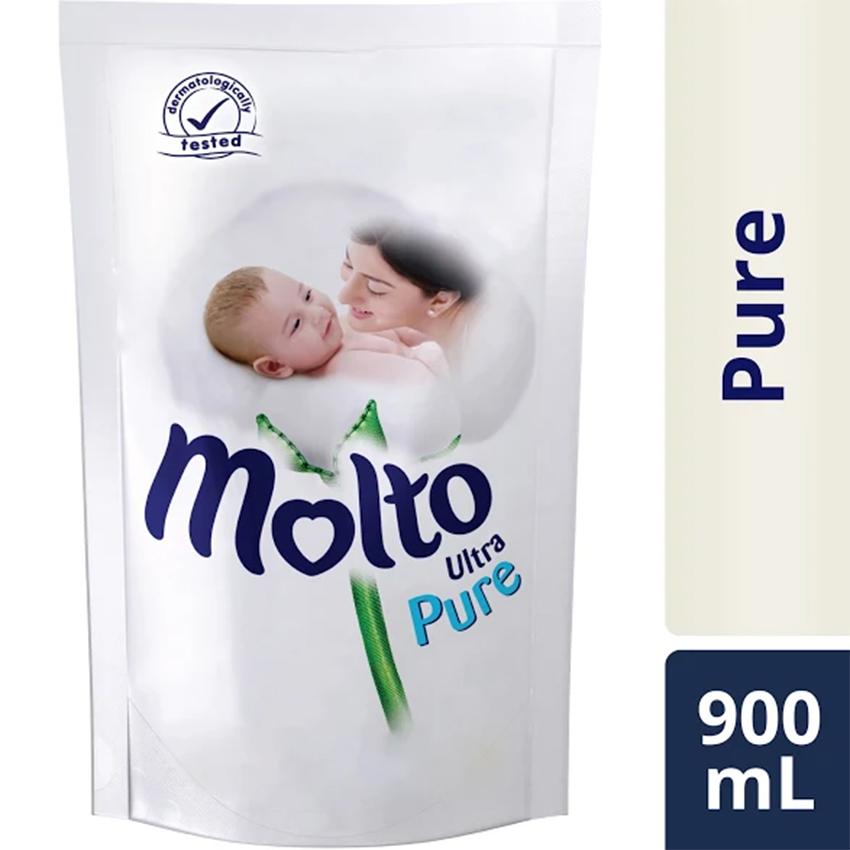 Belanja Terbaik Molto Ultra Pelembut Dan Pewangi Pakaian Pure 900Ml beli sekarang - Hanya Rp20.683