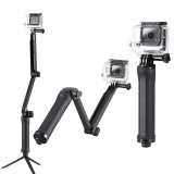 Jual Monopod 3 Way Grip Arm Tripod For Action Camera Monopod Murah