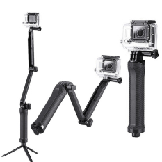 Beli Monopod 3 Way Grip Arm Tripod For Action Camera Nyicil