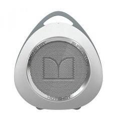 Monster SuperStar Hotshot Portable Bluetooth Speaker, Putih/Krom-Internasional