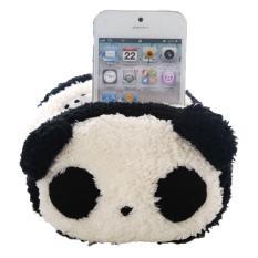 Moob Mainan Binatang Yang Lembut Universal Telepon Seluler Dudukan Kursi (Panda)
