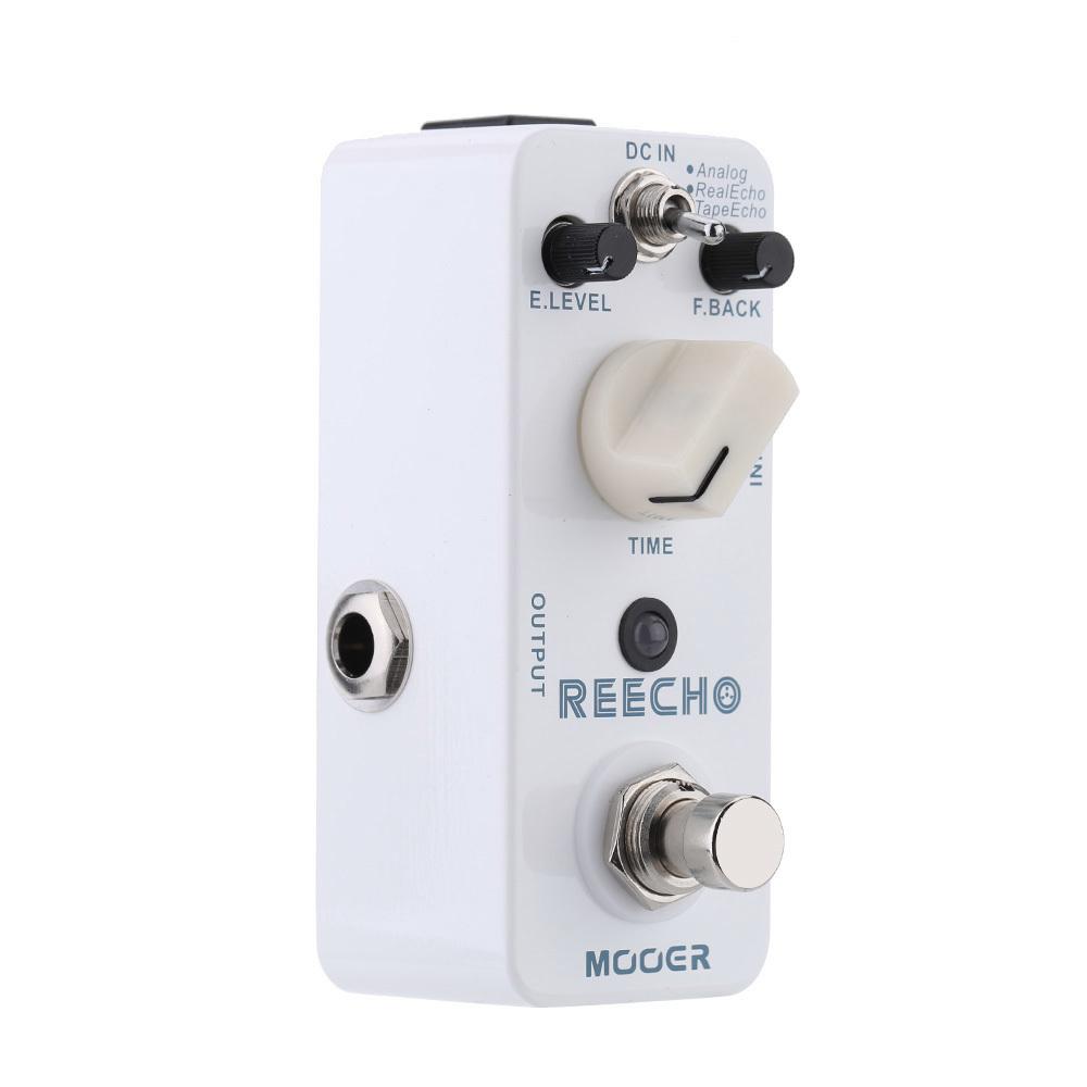 Spesifikasi Mooer Reecho Mikro Mini Digital Efek Tunda Pedal For Gitar Elektrik Benar Memotong Bagus