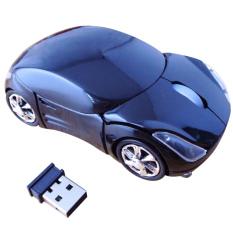 Toko Moonar 3D Mouse 1600Dpi Usb Nirkabel Optical 2 4G Berbentuk Mobil Untuk Pc Laptop Hitam Di Dki Jakarta