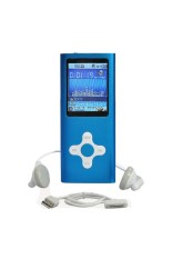Diskon Besarmoonar 4 Gb Mp3 Mp4 Media Video Player Radio Fm Biru