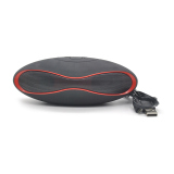 Jual Moonar Speaker Nirkabel Bluetooth Mini Portabel Super Bass For Tablet Mp3 Pc Hitam Ori