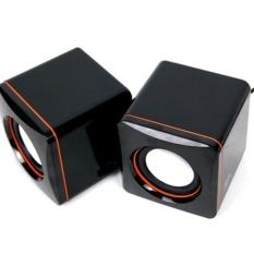 Moonar USB 2.0 3.5mm Stereo mini Pembicara Kotak Suara untuk Notebook-