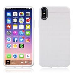 Moonmini Case untuk IPhone X Honeycomb Pattern Ultra Tipis Lembut TPU .