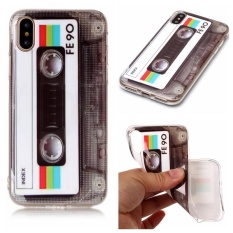 Moonmini Case untuk IPhone X Ultra-slim Fit Soft TPU Casing Ponsel (fe90)-Intl