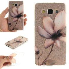 Iklan Moonmini Case Untuk Samsung Galaxy A5 2015 Slim Transparan Lembut Tpu Pelindung Belakang Magnolia