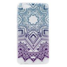 Moonmini Case untuk Penutup Wiko Pulp Fab 4G Case Transparan Tipis Bagian Belakang Silikon Lembut Case Cover-Pola Dekoratif 5-Intl