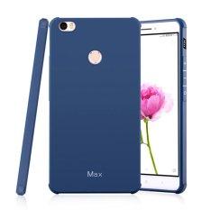Moonmini Sarung untuk Xiaomi Mi Max Soft Silicone Anti-Knock Karet Case-Safir Biru-Intl