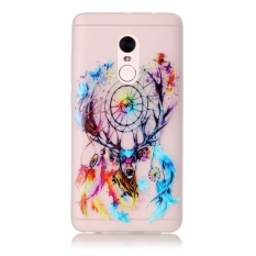 Moonmini Case untuk Xiaomi Redmi Catatan 4 Fluorescent Glow Luminous Efek Lembut Case-Colorful Dreamcatcher-Intl