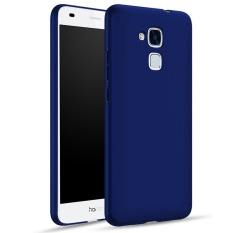 Moonmini for Huawei Honor 5C Hard PC Full Body Protection Smooth Grip Back Case - Blue - intl