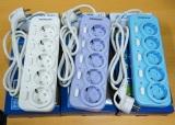 Katalog Morgen Stop Kontak Morgen 5 Lubang 5 Saklar Kabel 1 5 Meter Terbaru